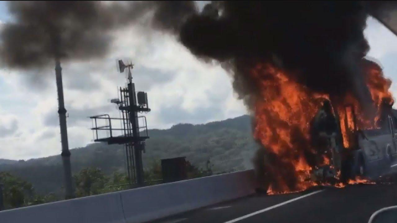 東名 高速 火災 東名高速で21日に発生した火災。橋梁工事中にいったい何が起きたのか