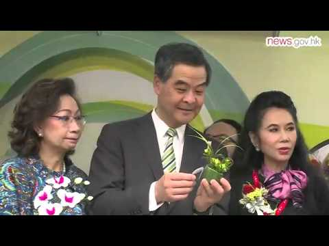 CE opens HK brands expo (13.12.2015)