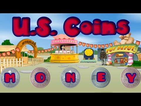 U.S. Coins, Teaching Kids About the Value of Money, Fun Math Game