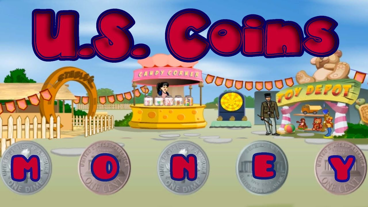 U.S. Coins, Teaching Kids About the Value of Money, Fun Math Game ...