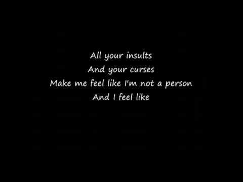 Staind - For you (lyrics)