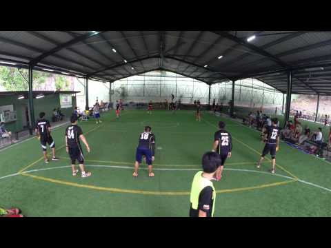 National Dodgeball League 2014: Match 99 - Titans vs Zelts Game 8/11 (Male)