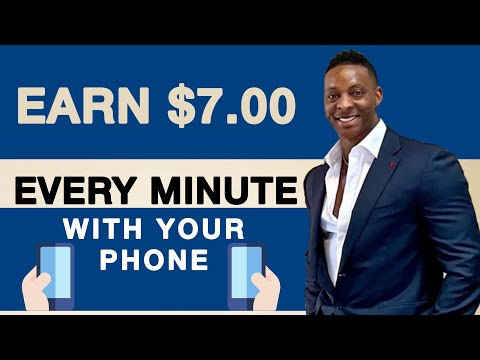 Earn $7.00 Every 1 Min With Your PHONE | Free Paypal Money | Make Money Online 2021