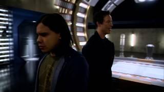 The Flash 1x15 - Eobard Thawne reveals himself to Cisco HD