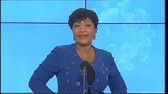 Le 20 Heures de RTI 1 du 24 avril 2020 par Marie Laure N'Goran