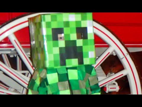 Minecraft Creeper Halloween Tutorial