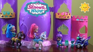 Shimmer and Shine Stolen Gems Story with Shimmer and Shine Palace, Zeta's Scooter, Genie Blindbags