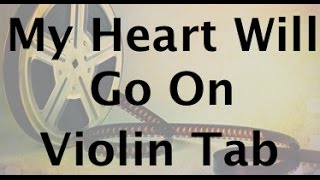 How to Play My Heart Will Go On on Violin