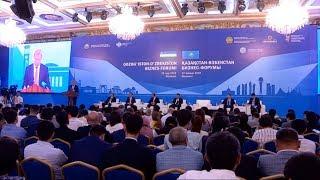 В Шымкенте прошел Казахстанско-Узбекистанский бизнес-форум