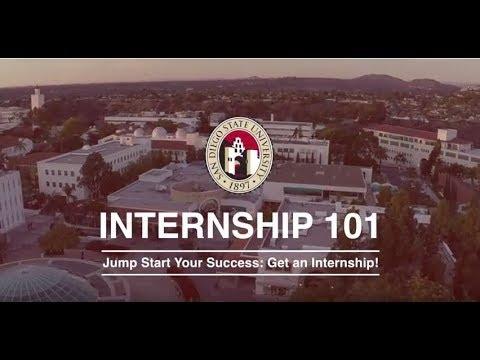 Internship 101: Jump Start Your Career- Get an Internship! Video