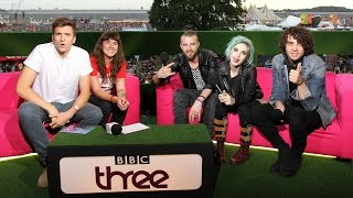 Paramore chat to Jen Long and Greg James - Reading 2014