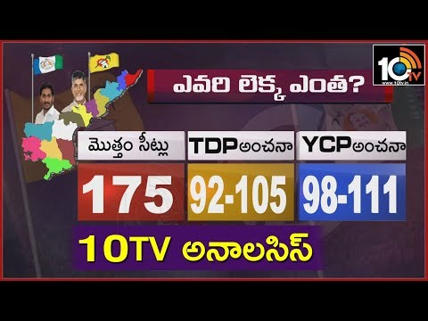 10TV Special Analysis on District Wise Polling Percentage | AP Elections 2019 | 10TV News