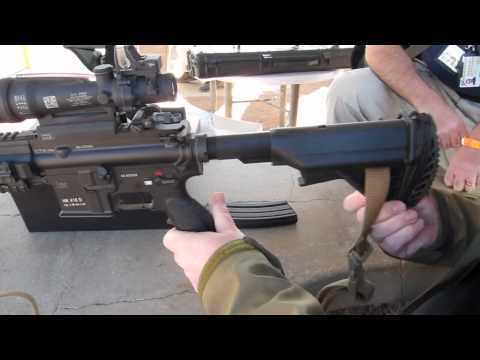 Heckler & Koch M27 Infantry Automatic Rifle variant of the HK416 - SHOT Show 2012