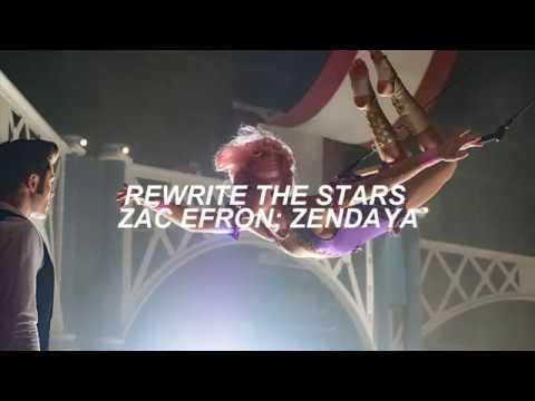 Rewrite The Stars (The Greatest Showman) | Zac Efron, Zendaya | LYRICS