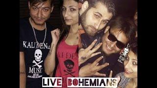 ''BOHEMIA'' Ki Pakki Fan (Girl vs Boy)   @SAHARA rapping LIVE   UDeep Verma 2O17