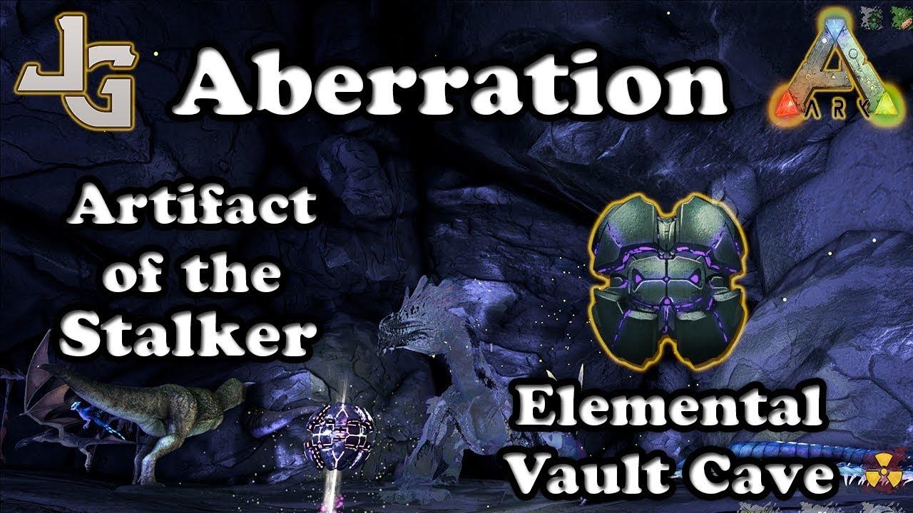 Ark artifact of the stalker aberration elemental vault cave ark artifact of the stalker aberration elemental vault cave guide malvernweather Choice Image