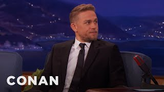 Charlie Hunnam: Playing King Arthur Is A Childhood Dream Come True  - CONAN on TBS