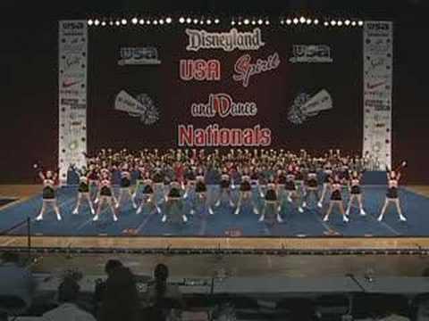 Washington High School Cheerleading at USA Nationals 2007