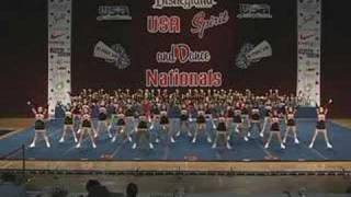 Washington High School Cheerleading at USA Nationals 2007