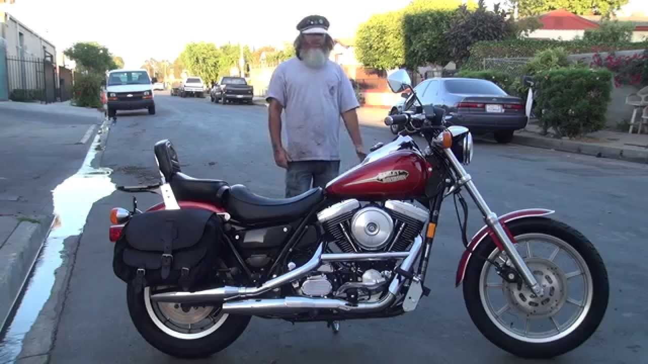 Hunting Harley's, 1992 Harley FXRS Lowrider Sport convertible