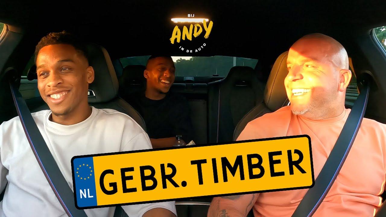 Gebroeders Timber - Bij Andy in de auto!