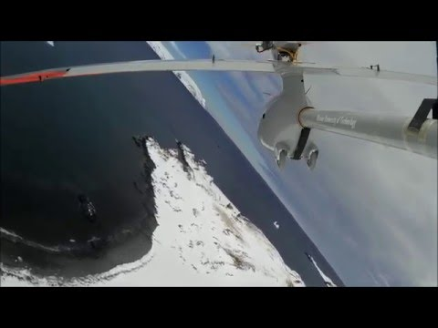 UAV PW-Zoom fly over King George Island, Antarctica