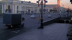 LIVE CAMERA Nevskiy avenue St. Petersburg Russia. Невский пр. Санкт-Петербург