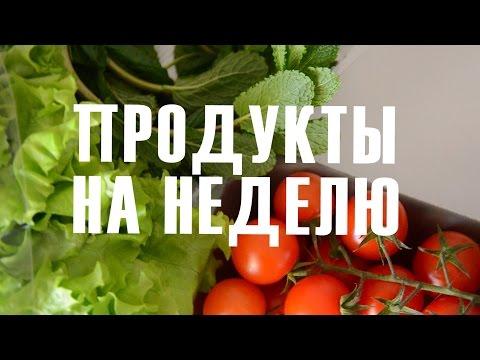 Правильное питание для похудения: диета ПП, меню на неделю