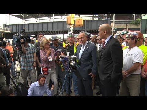 NJ, NY senators advocate for Gateway Tunnel funding