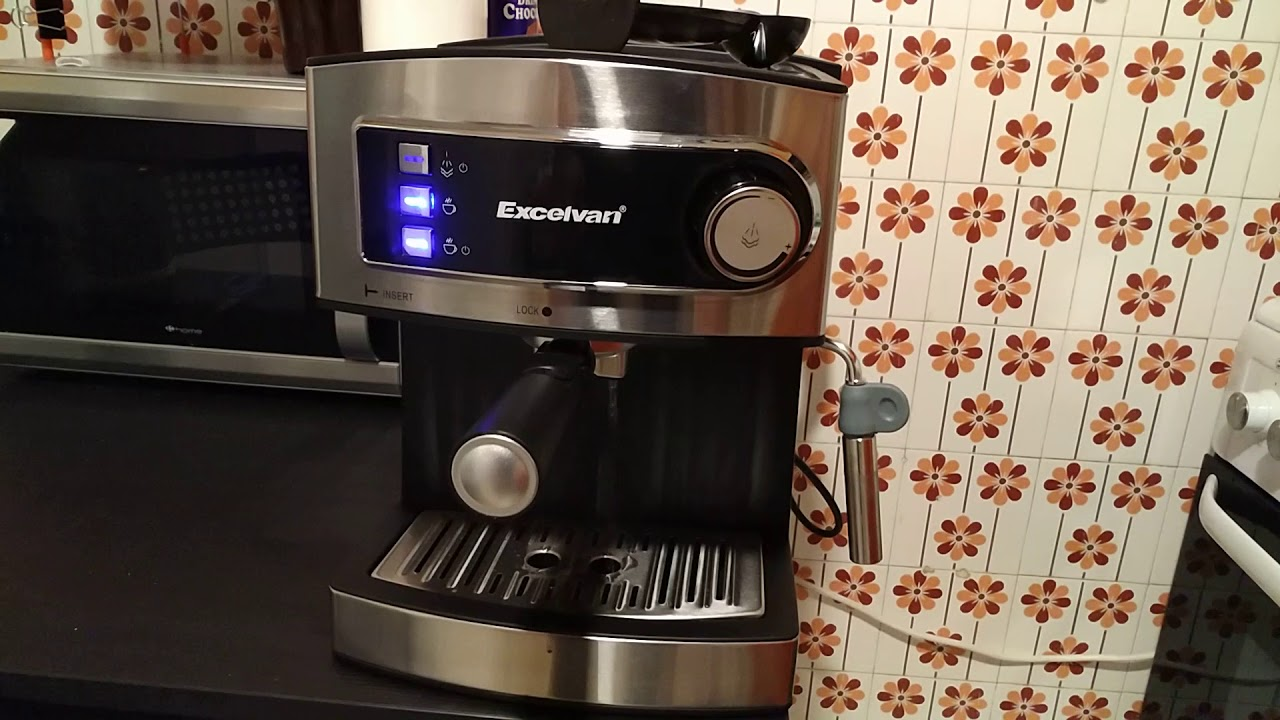 Excelvan 15 Bar Pump Espresso Machine Gearbest