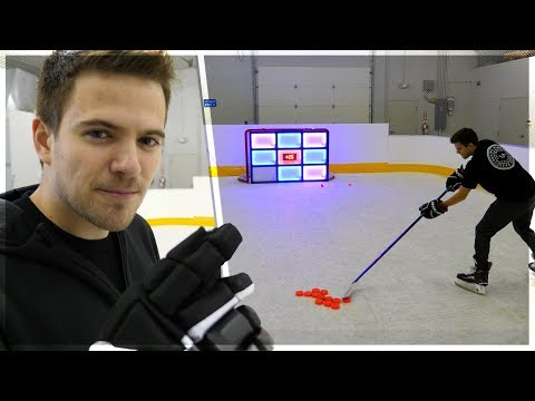 IS IT TRASH? – LIGHT-UP HOCKEY NET (KNOCKOUT)