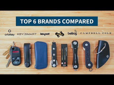 The Best Key Organizers For 2019 | Orbitkey Vs. Bellroy Vs. Keybar (and More)