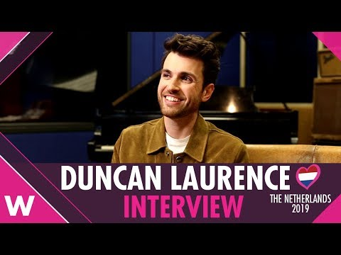 "Duncan Laurence ""Arcade"" (The Netherlands 2019) INTERVIEW 