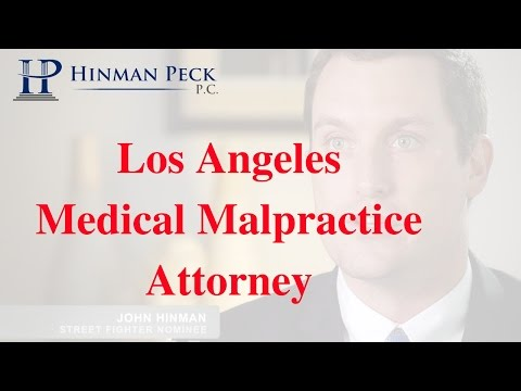 Medical Malpractice Los Angeles Attorney - CALL (877) 462-9732 for a FREE CONSULTATION.