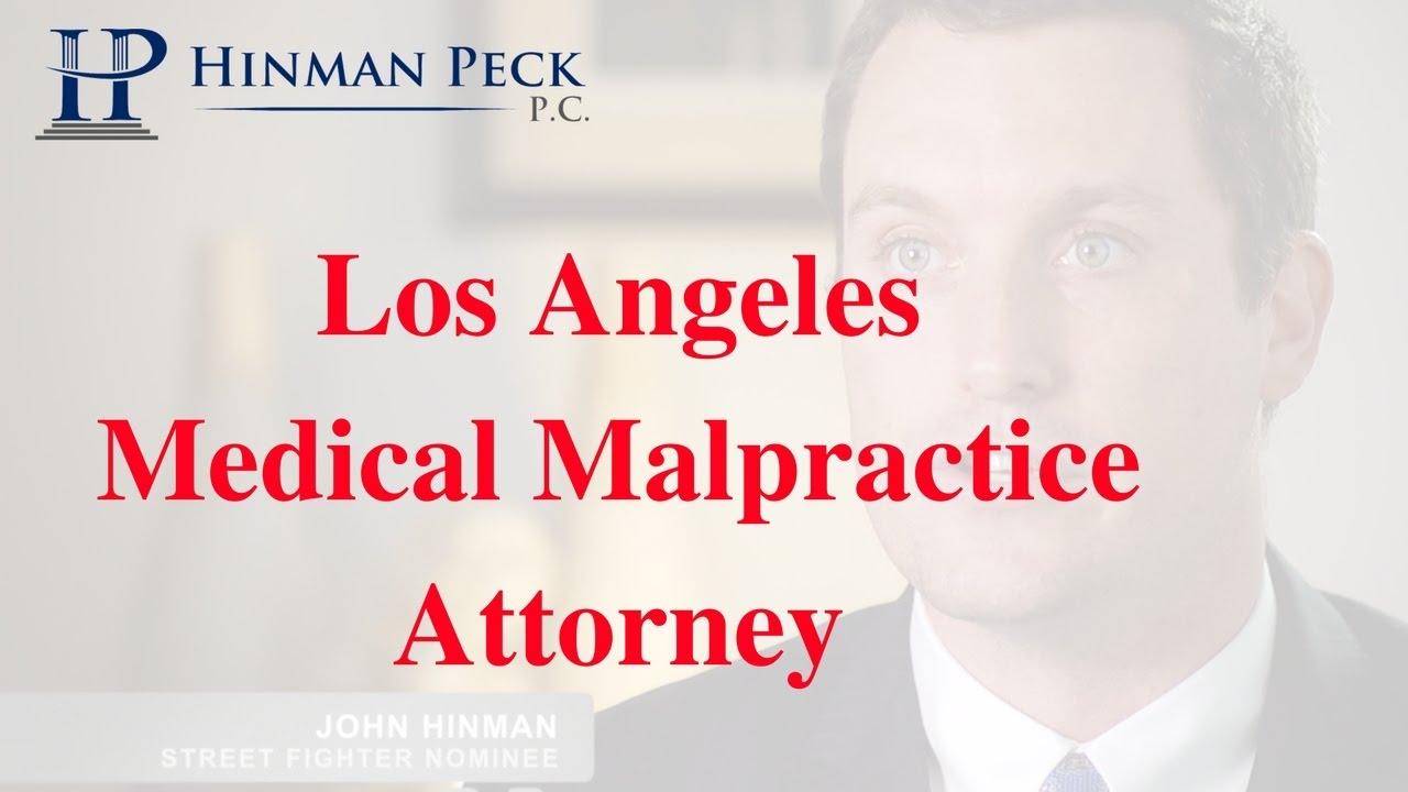 Medical Malpractice Los Angeles Attorney - CALL (877) 462 ...