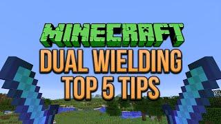 Minecraft 1.9 Dual Wielding Top 5 Tips (Tutorial)