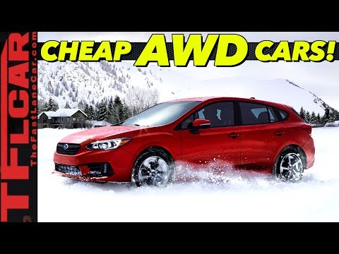 Budget AWD Traction - These Are The Top 10 Cheapest All-Wheel-Drive Cars You Can Buy!