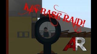 KIN BASE RAID! | ROBLOX Apocalypse Rising