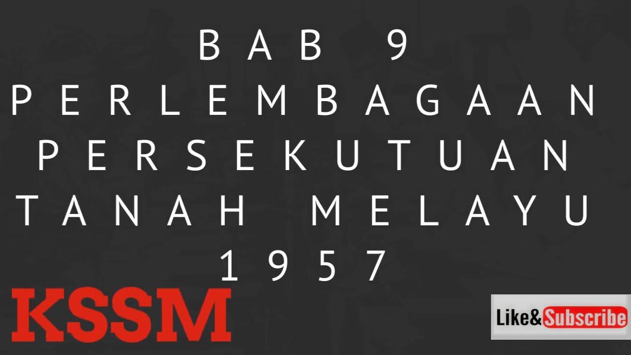 Sejarah Tingkatan 4 Kssm Bab 9 Perlembagaan Persekutuan Tanah Melayu 1957 Youtube