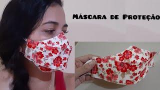 Máscara de Proteção 3D com Molde Fácil de Fazer