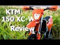 KTM 150 XC-W Review |  Who this bike IS for and who it's NOT for