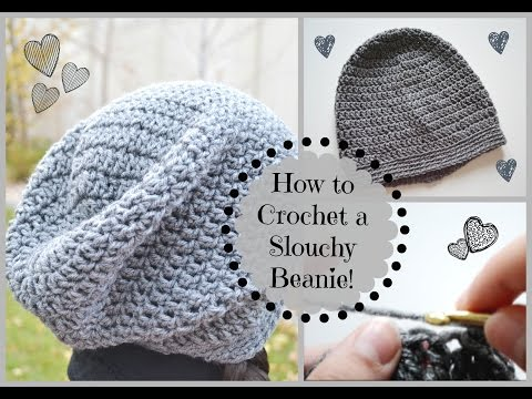How to Crochet a Cute Slouchy Beanie! | Ms. Craft Nerd
