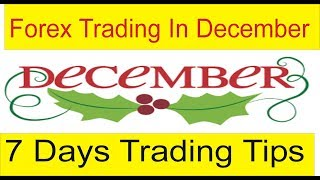 Last Week Of December And Forex Trading Secret Tips By TaniForex in Hindi and Urdu