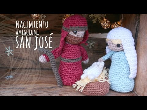 Belen Nativity Amigurumi : Tutorial Belen Amigurumi: San Jose (Nativity English ...