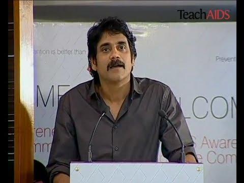 Celebrated Indian Cultural Icon, Nagarjuna Akkineni, speaks on TeachAIDS