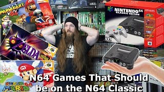 N64 Games That Should be on the N64 Classic - AlphaOmegaSin