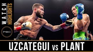 Uzcategui vs Plant HIGHLIGHTS: January 13, 2019 - PBC on FS1