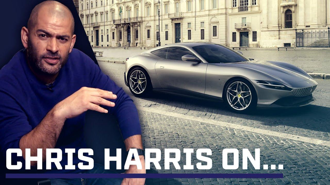 Is That An Aston Martin Chris Harris On The Ferrari Roma Top Gear Youtube