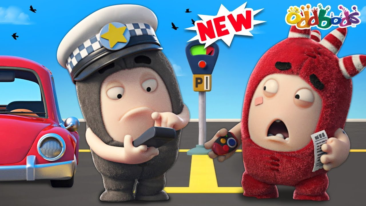 Oddbods | Parking Ticket | NEW | Funny Cartoons For Children