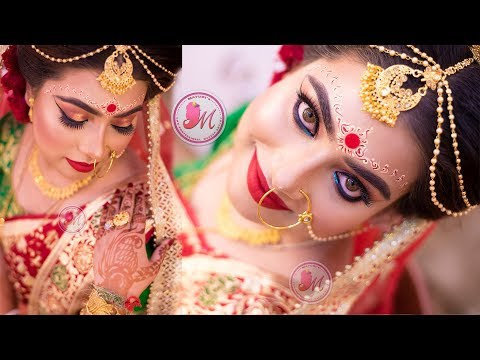 Gorgeous Bengali Bridal Eye Makeup Tutorial    STEP-BY-STEP    Mayuri Sinha Sarkar